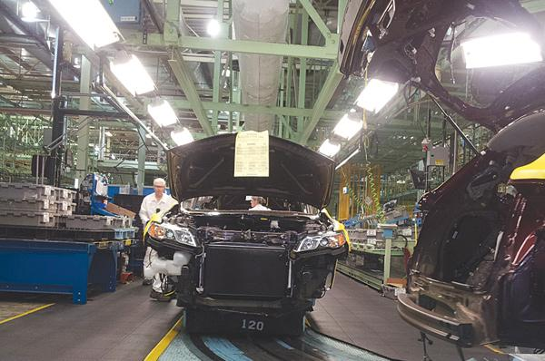 Workers at Honda's East Liberty plant are making the redesigned Acura RDX.