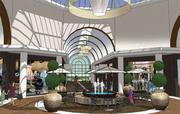 An interior view of what planners have in store for the Worthington Square mall.