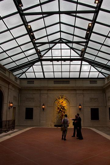 A centerpiece of the Columbus Museum of Art's renovation is a redone Derby Court.