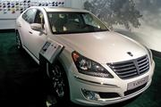 "No. 7 — Hyundai. Nameplates: Hyundai, Kia. Overall score: 63. Consumer Reports says: ""...designs are impressive with often class-leading fuel economy."" Pictured: The Hyundai Equus."