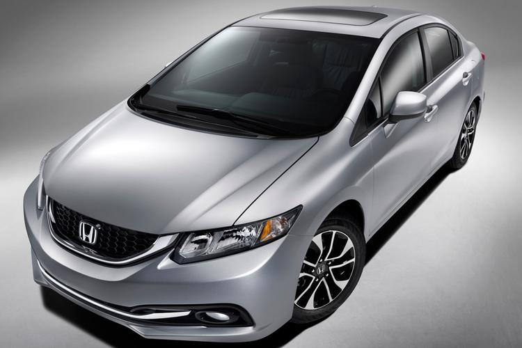 Honda made a slew of design improvements in response to criticism of the 2012 Civic, including giving the 2013 model a more sleek look.