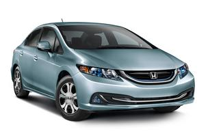 The Civic Hybrid, made in Greensburg, Ind., is one of only three hybrids to be manufactured in North America by Honda.