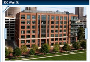 Continental Realty agents are handling the leasing of 230 West St. in the Arena District.