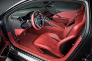 A look at the NSX's interior.