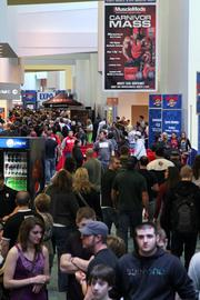 The Arnold Sports Festival also includes a full expo with 700 booths that show off sports equipment, apparel and nutrition products.