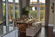 Compass Homes Inc. earned a gold award for its dining room.