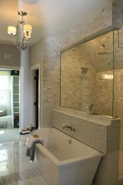 Miller Troyer Custom Homes won a gold award in the suite competition.