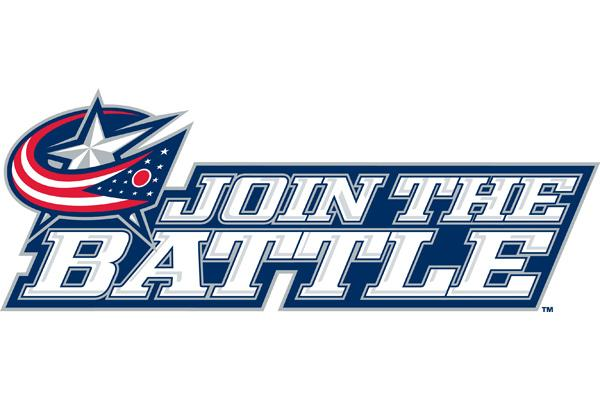 """The Columbus Blue Jackets have launched a new """"Join the Battle"""" marketing campaign that includes print, television, radio and Internet advertising."""