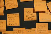 """Comments posted to the """"conversation wall."""""""