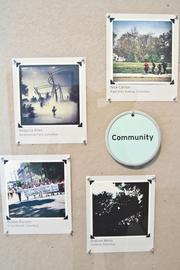 """The """"community photo challenge"""" had people snapping Instagram pictures for the first-ever Instagram exhibit."""
