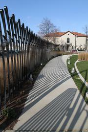 Wheelchair ramps were added as part of the renovation.