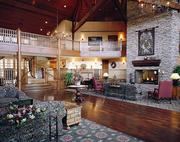 The interior of the Cherry Valley Lodge.