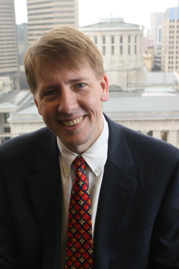 Richard Cordray at least has the support of Ohio Bankers League CEO Mike Van Buskirk for his re-nomination.