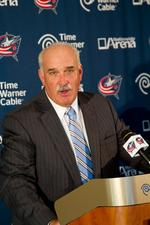Davidson taking role as public face for Blue Jackets with fans, corporate sponsors