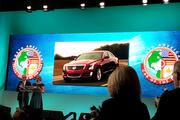 North American Car of the Year presentation