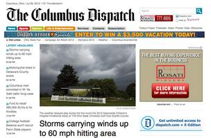 Online readers of the Columbus Dispatch will be limited to the number of stories they can access with paying for a subscription.