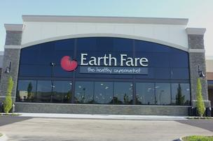 The Earth Fare Inc. supermarket at the Gemini Place Towne Center is 27,000 square feet.