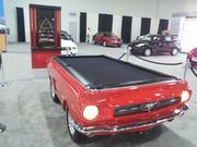 Columbus International Auto Show attendees also will find a pool table made to look like a Ford Mustang among the wares.