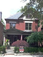 1029 Neil Ave., listed at $693,000, 3,300 square feet, four bedrooms, built in 1895, original woodwork, new hardwood floors, heated marble floor in master bath.