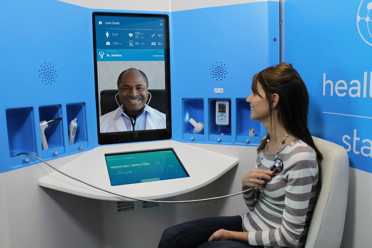 Nationwide Children's has signed on to test HealthSpot's telemedicine kiosks in locations around Columbus.