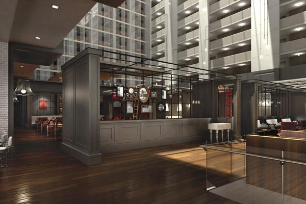The Hilton Columbus Downtown has named the executive chef responsible for its Gallerie Bar & Bistro. Click on the following images for another look at the restaurant, and photos of the chef and the hotel's director of food and beverage.