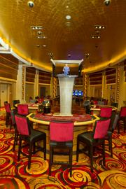 For those willing to gamble with a bit higher stakes, the casino will offer a high-roller area.