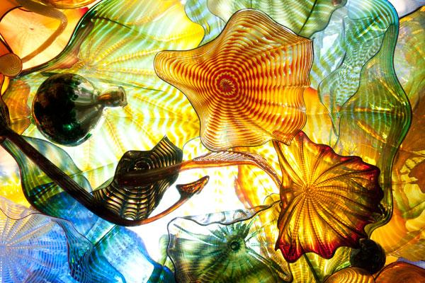 The Franklin Park Conservatory's Chihuly exhibits have inspired the glass-blowing artists at the attraction's Hot Shop.
