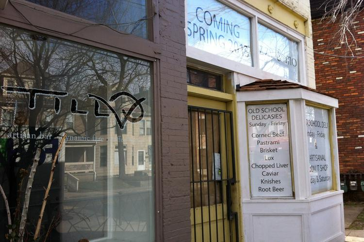 The space next to Till on King Avenue is being converted to Izzy & mo, a deli and doughnut shop.