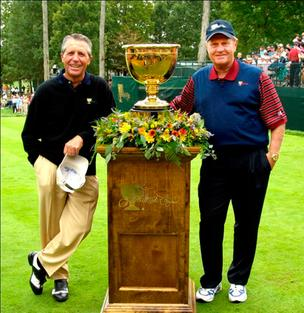 Gary Player Jack Nicklaus Presidents Cup