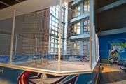 An expanded rink for kids play was added to the IGS Zone inside Nationwide Arena.