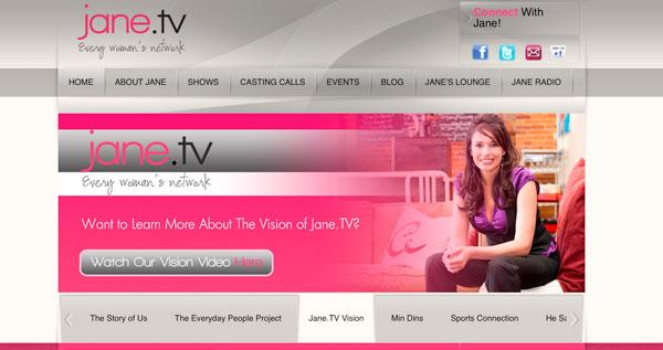 Jane.TV is targeting women with a new online site.