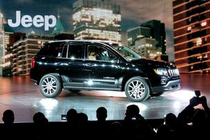 The 2014 Compass, introduced Monday at the Detroit Auto Show, is Chrysler's entry into the increasingly crowded market for smaller SUVs.