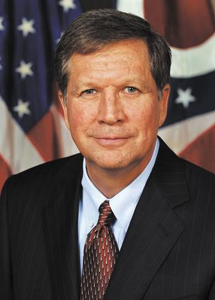 Ohio Gov. John Kasich official portrait