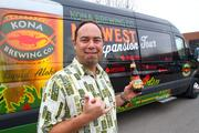 Mattson and his team drove a specially decorated and equipped van around the brewer's new states to promote the product.