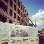 Turner Construction Co. is building the 214,000-square-foot office building for Nationwide.