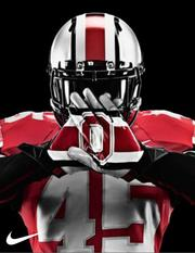 The helmets will have wider stripes and a chrome-color look to them.