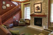 The front lobby gives off a homey feel instead of a clinical setting.