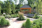 Outside, patients have access to a Serenity Garden on the hospice's grounds.