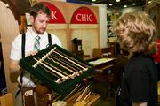 Exhibitors will be on hand selling a variety of merchandise, including ever-popular wands showcased by Cody Matthews of Geek Chic. In addition to the $60 wands, Geek Chic makes custom gaming tables, swords and other items.