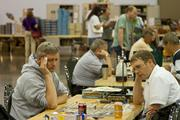 Board games are played everywhere throughout the Origins Game Fair.