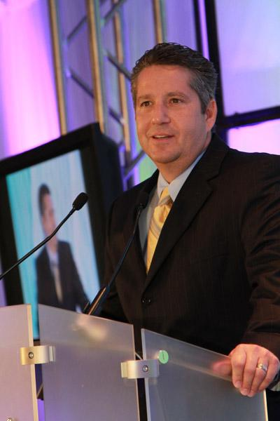 Dan Paoletti, CEO of the Ohio Health Information Partnership, was the keynote speaker at the 2012 Health Care Heroes awards.