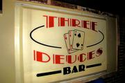 The Three Deuces Bar, which occupied the space for more than 40 years, is not forgotten.