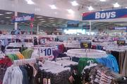 Apparel is a big seller at Roses stores.