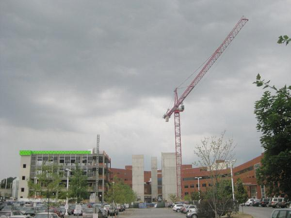 The four-story addition to Mount Carmel St. Ann's is expected to open in fall 2013.