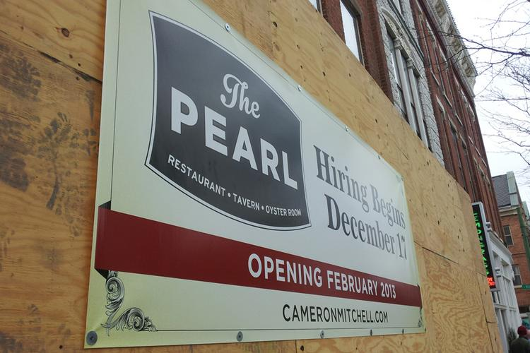 Hiring for the Pearl in the Short North is under way.Click the next image for a rendering of how it will look inside.