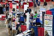 An important part of any large tournament for sponsors and vendors is the expo.