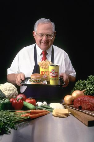 Wendy's founder Dave Thomas