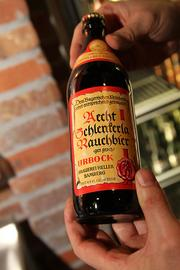"With 500 varieties available, some unusual beers will be on hand for adventurous drinkers. Aecht Schlenkerla Rauchbier Urbock is a German brew described by one beer blog as a ""bitter Smokebock for the strong-beer season (October through December)."""