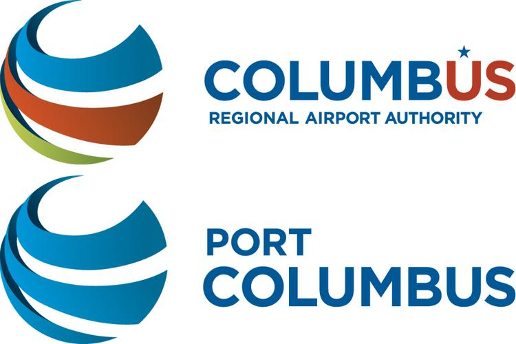 The Columbus Regional Airport Authority is adopting a new logo for itself and its managed airports, including Port Columbus.