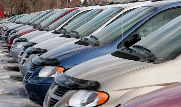 Americans are buying more vehicles, despite the payroll tax hike.